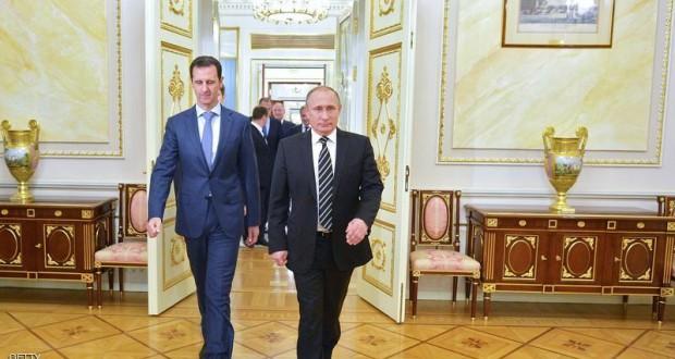 الطائراتُ الروسية تواصل غاراتها، والأسد خارجَ البلاد للمرة الأولى منذ اندلاع الثورة