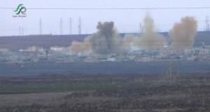 قصفٌ روسي على حربنفسة في ريف حماة