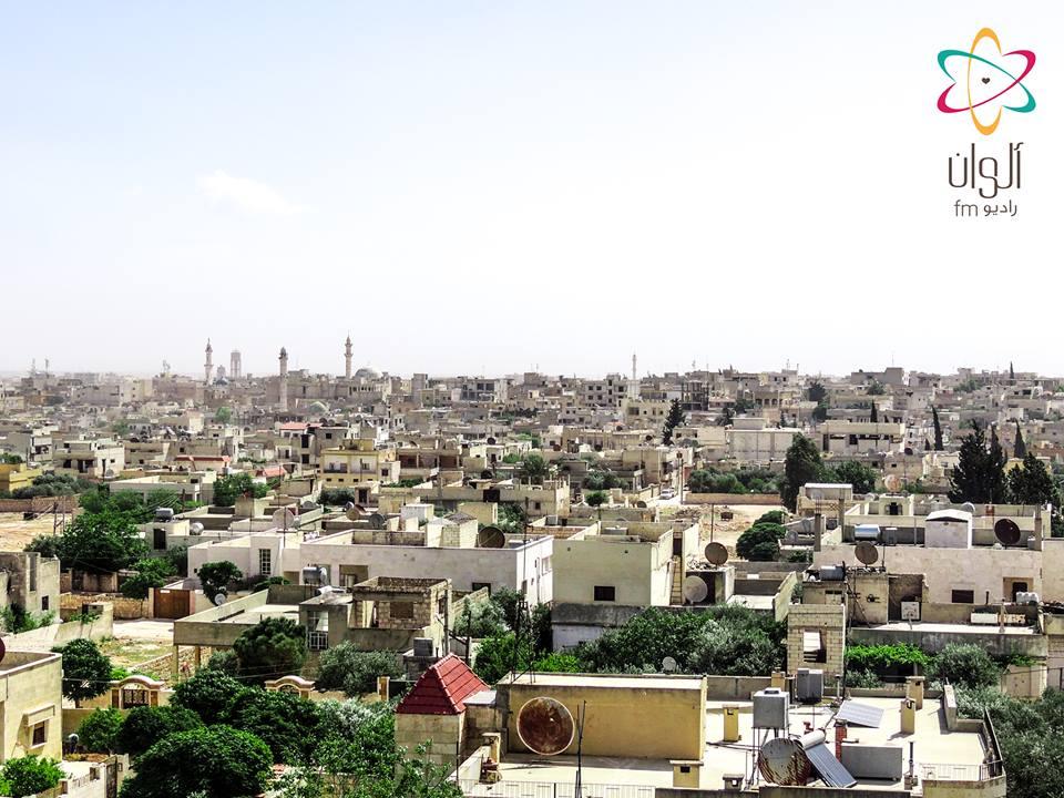 الحي الغربي في مدينة سراقب بريف إدلب/4 أيار 2016/بعدسة محمد قدور.