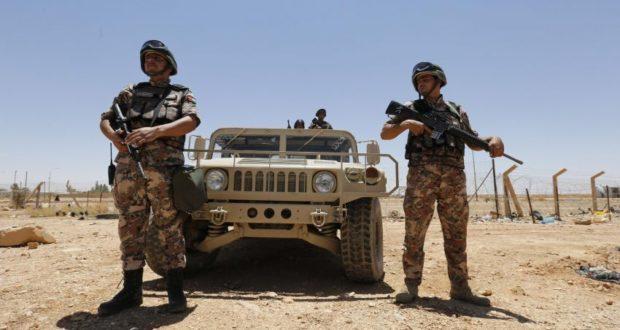 الجيش الأردني على الحدود السورية