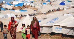 مخيم اللاجئين السوريين في لبنان