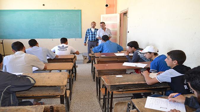 استئناف الامتحانات للطلاب بريف إدلب .. والتنسيق عبر