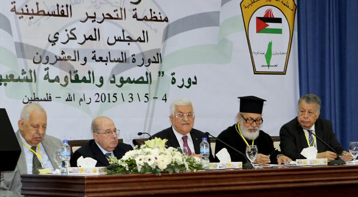 المجلس المركزي الفلسطيني يعلّق اعترافه بـ