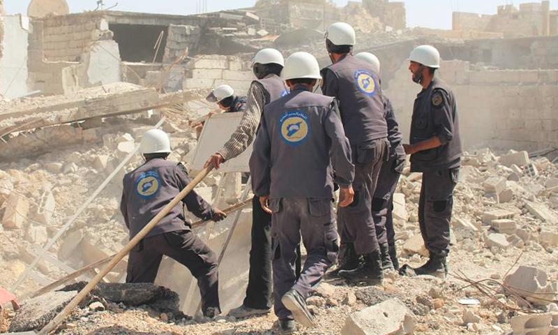 الدفاع المدني في الغوطة بين الحصار المحكم و قصف النظام