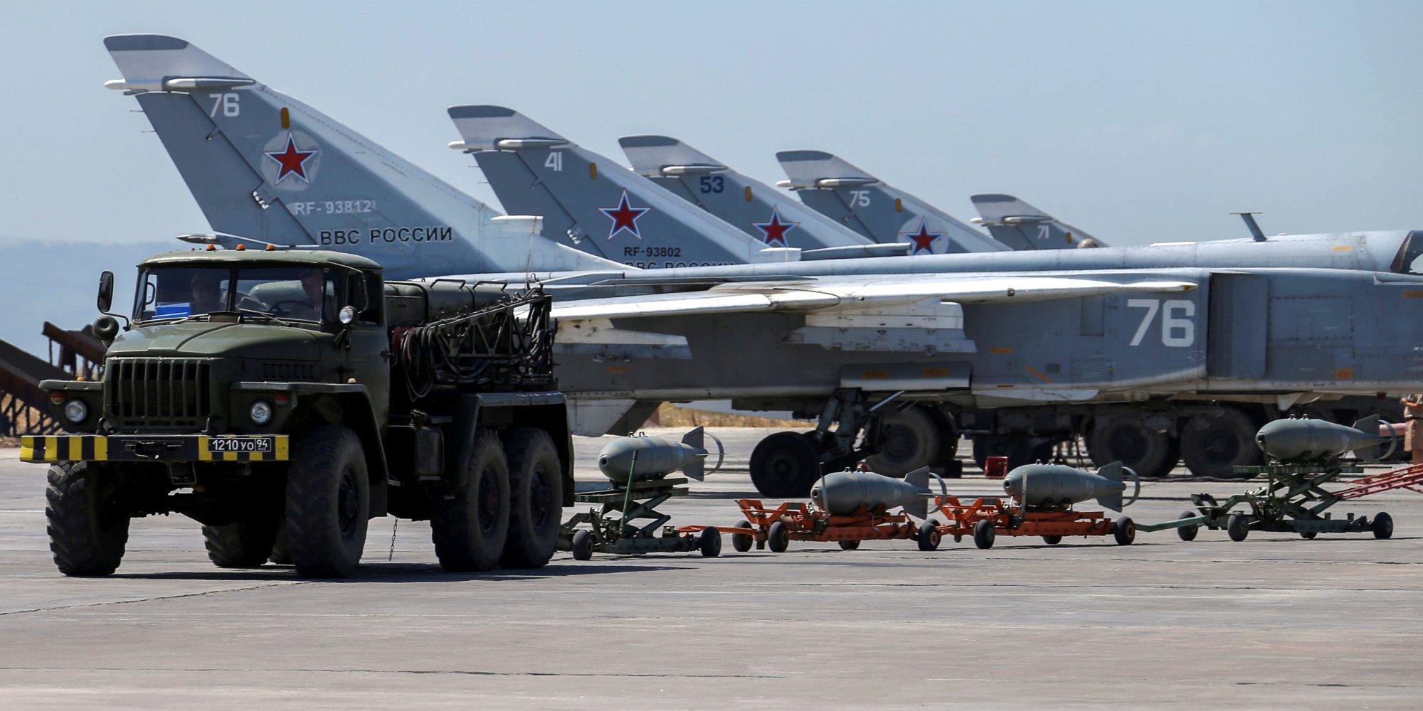 روسيا: الطائرات التي استهدفت حميميم انطلقت من إدلب
