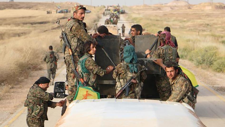 الوحدات الكردية تدعو النظام لمساندتها في عفرين