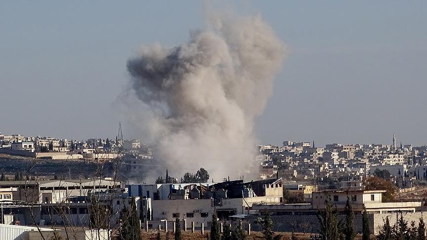 ثلاثة جرحى بقصف صاروخي على بلدة الغنطو بحمص