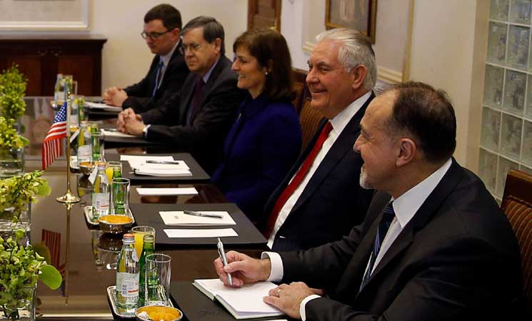 المعارضة تصف لقاءها مع وزير الخارجية الأمريكي بالمهم
